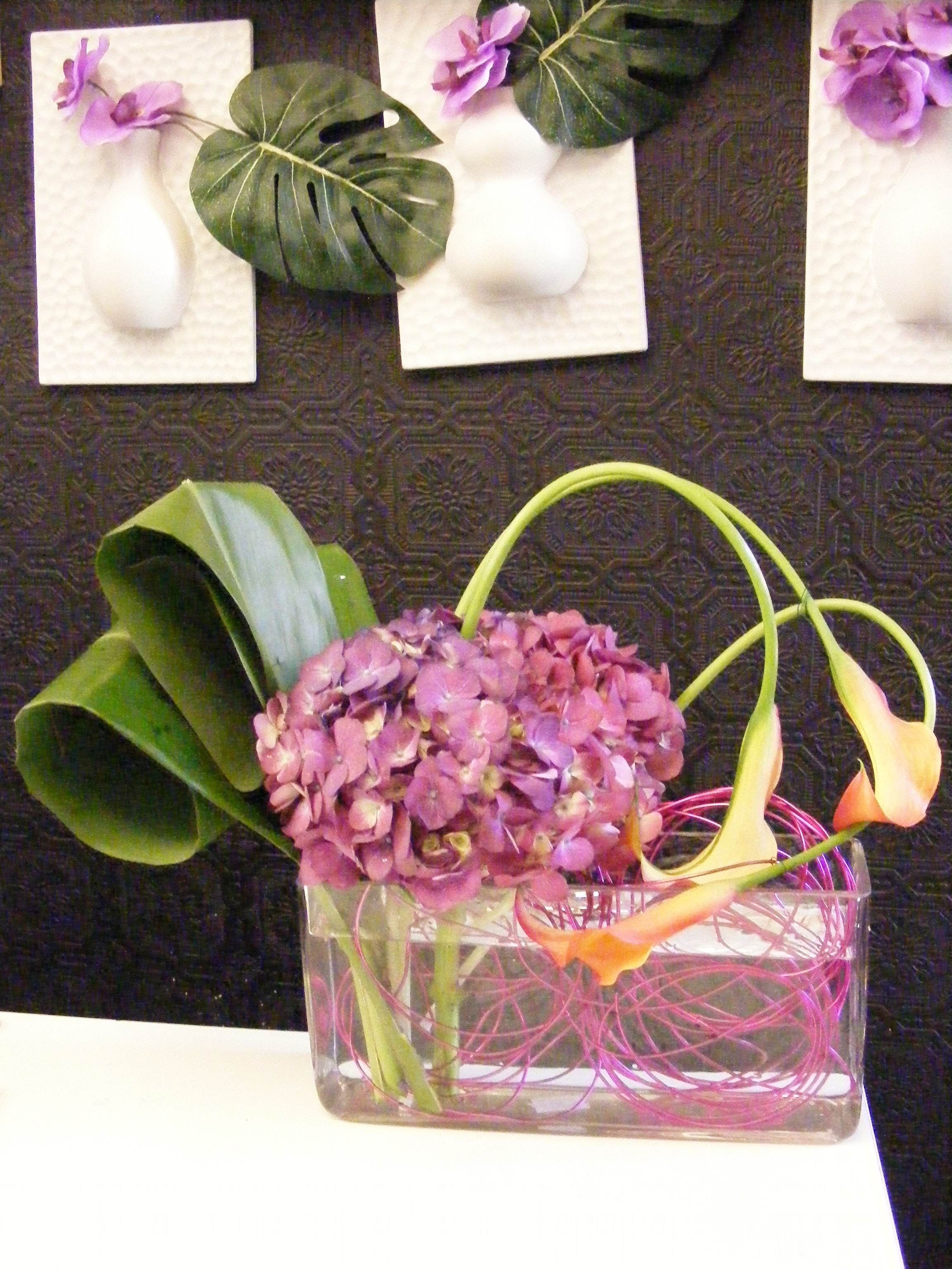 Bright Flower Display Mondu Floral Design High End Downtown