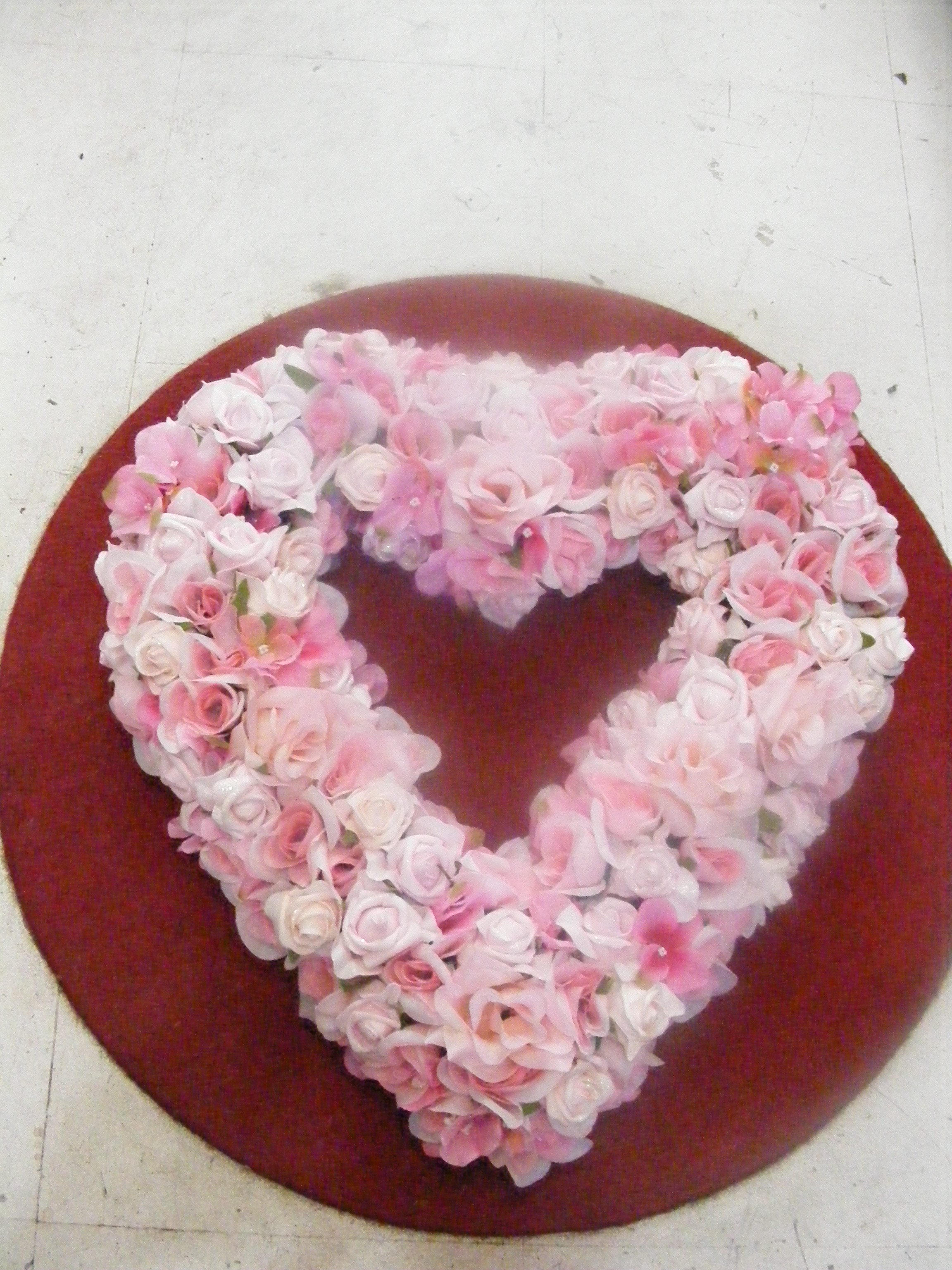 Wedding flowers mondu floral design high end downtown toronto this week we have a client that has requested a heart shaped wreath to place on a car i remember when i was in holland and they had the flower parade izmirmasajfo